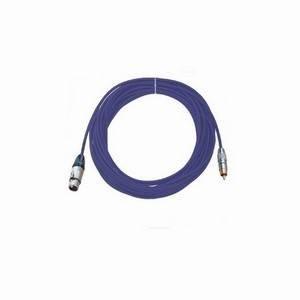 Pro Neutrik XLR Female - Phono Lead 10m Blue