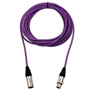 Pro Neutrik XLR Cable 50m Violet