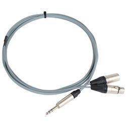 Pro Neutrik Jack – XLR Insert Lead (Tip Send) 2.5m