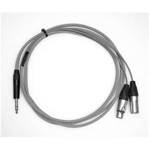 Pro Neutrik Jack – XLR Insert Lead (Ring Send) 2.5m