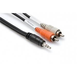 Hosa CMR-210 Minijack- 2x Phono 3m