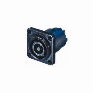 Neutrik NLT4FP-BAG 4-Pole Female Speakon Chassis Socket Black