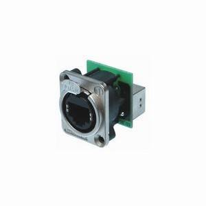Neutrik NE8FDP Feedthrough Chassis D-Type RJ45