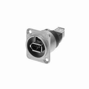 Neutrik Firewire Feedthrough NA1394-6-W