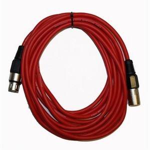 XLR Cable 5m Red