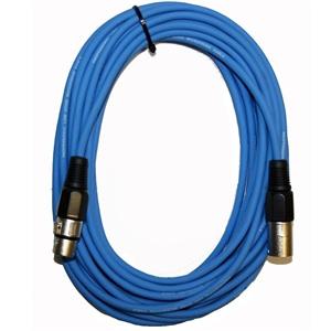 XLR Cable 10m Blue