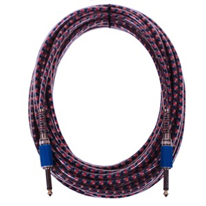 Studiospares Multi-Coloured Guitar Lead 10m
