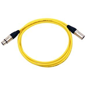 Pro Neutrik XLR Cable 2m Yellow