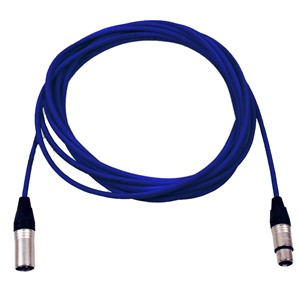 Pro Neutrik XLR Cable 7m Blue