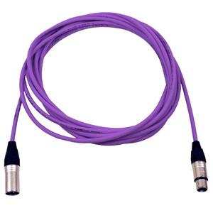 Pro Neutrik XLR Cable 7m Violet