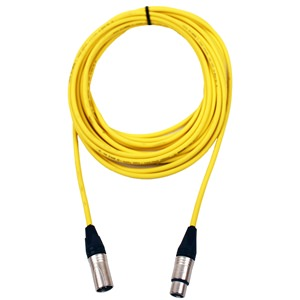 Pro Neutrik XLR Cable 15m Yellow