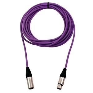 Pro Neutrik XLR Cable 15m Violet
