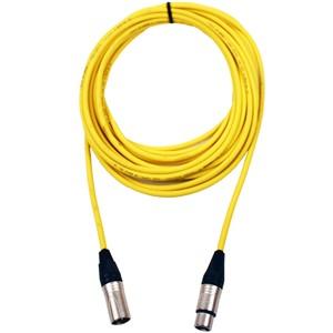 Pro Neutrik XLR Cable 20m Yellow