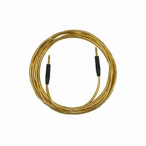 Pro Neutrik ZX Guitar Lead 5m Gold Straight