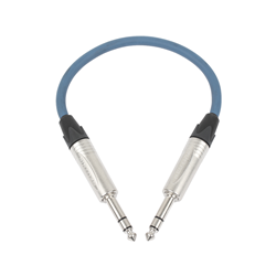 Stereo Jack - Stereo Jack 0.3m Blue