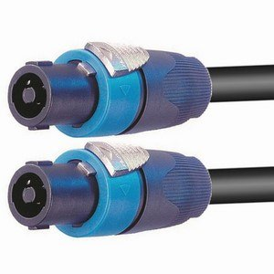 Pro Neutrik 4-Core Speakon Lead 25m
