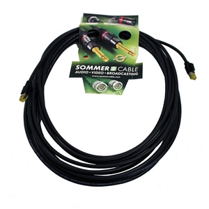 Pro Neutrik/Sommer CAT7 Lead (Hirose plugs) 10m