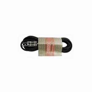 Guitar Lead Cloth Black/Gold Straight Jacks 5m