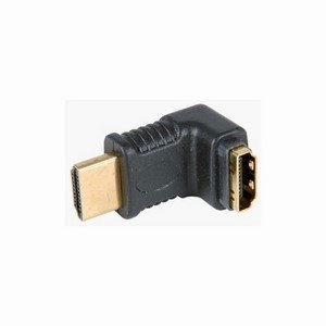 HDMI Right Angled Plug-Socket Coupler
