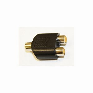 Mono Phono Socket - 2x Mono Phono Socket Adaptor