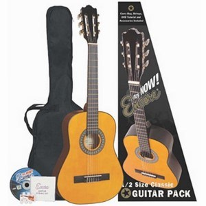 ENCORE CLASSICAL 1/2 SIZE GUITAR PACK