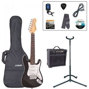 Encore Electric 3/4 Guitar Pack Black