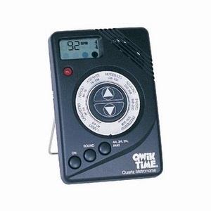Qwik Tune Metronome Black