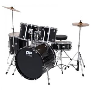 Drum Kit PP250BLK 5-Piece Acoustic