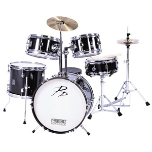 Drum Kit Pp200Blk Junior Acoustic