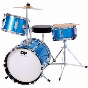 Drum Kit PP100BL Junior 3 Piece