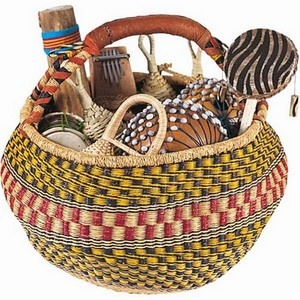 Percussion Multi-Cultural Basket