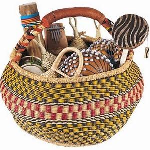 Percussion Multi-Cultural Basket