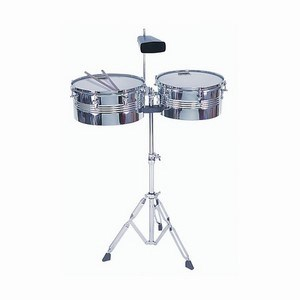 Timbales & Stand Chrome