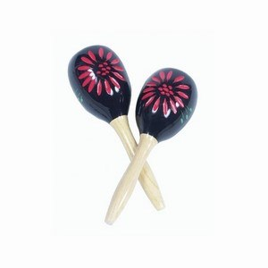 Maracas Wood Multicoloured