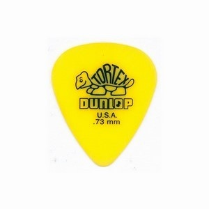 Jim Dunlop .73mm Tortex Standard Yellow Plectrum