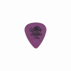 Jim Dunlop 1.0mm Tortex Standard Blue Plectrum