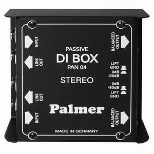 Palmer PAN 04 Dual Passive DI Box
