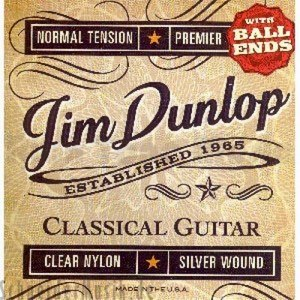 Dunlop Premiere Acoustic Nylon Ball End x6