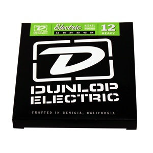 DUNLOP ELECTRIC HEAVY x6 STRINGS