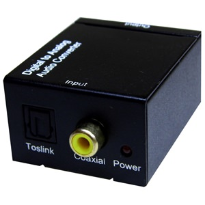 AUD-3 S/PDIF Phono & TOSLINK to Analogue Converter