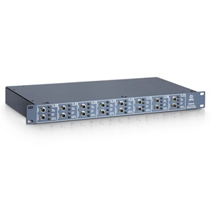 Palmer PAN16 8-Channel 19'' Passive DI Box