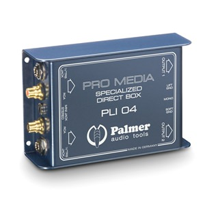 Palmer PLI04 Media DI Box 2-Channel
