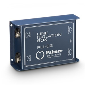 Palmer PLI02 Line Isolation Box 2-Channel
