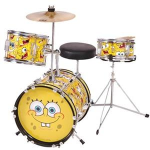 SpongeBob Squarepants 3 Piece Drum Kit