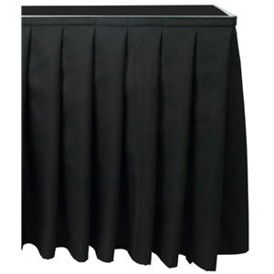 Citronic Stage Skirting 20x105cm