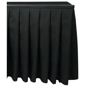 Citronic Stage Skirting 40x205cm