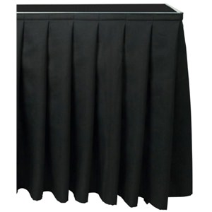 Citronic Stage Skirting 100x205cm