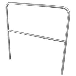 Citronic Aluminium Handrail 1m