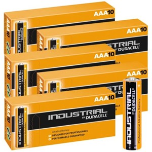 Duracell AAA Industrial 100-Pack Batteries