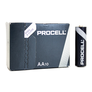 Duracell Procell AA 10-Pack Batteries